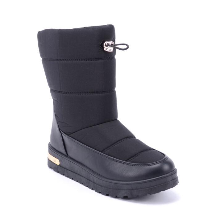Női Műszálas Hótaposó Fekete - HÓTAPOSÓK - Női cipő webáruház-női csizmák 50d2b0e2ae
