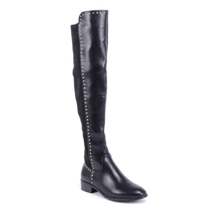 Small Swan Női Csizma Fekete - MAGASSZÁRÚ CSIZMÁK - Női cipő webáruház-női  csizmák a068c264de