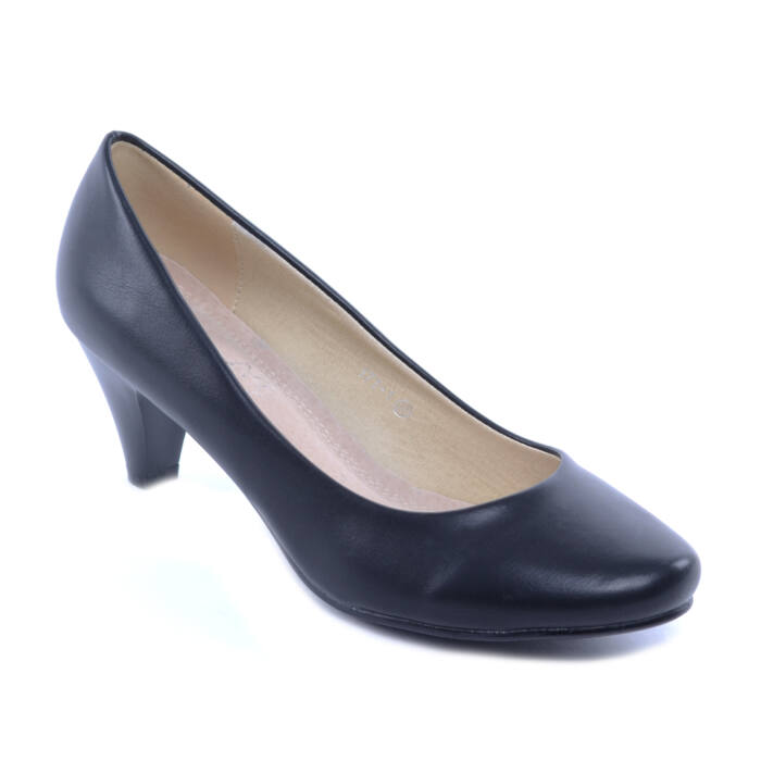 Női Műbőr Magassarkú Fekete - ALKALMI CIPŐK - Női cipő webáruház-női  csizmák a726324bc5