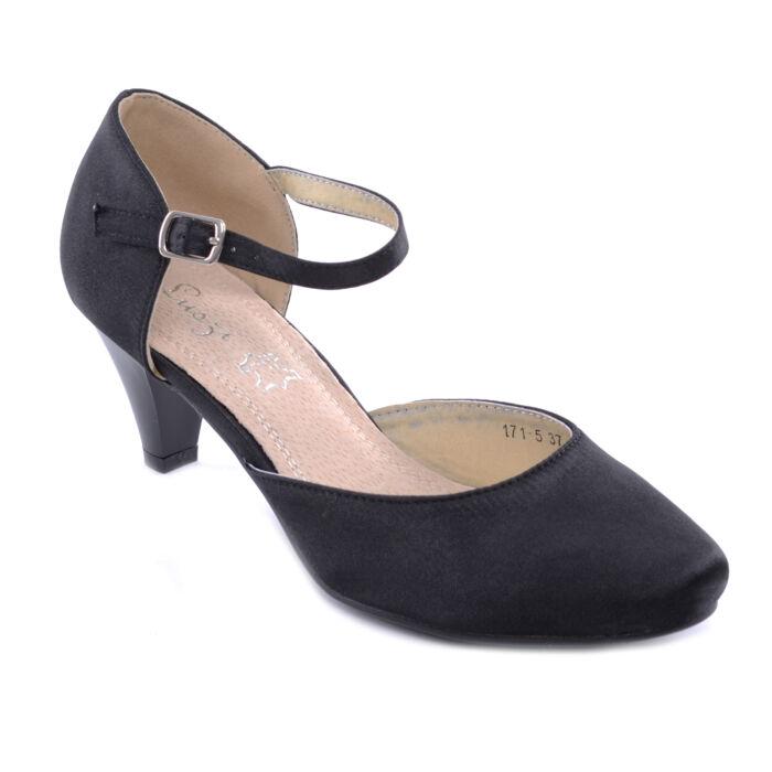 Női Poliészter Törpesarkú Fekete - ALKALMI CIPŐK - Női cipő webáruház-női  csizmák 855de266a8