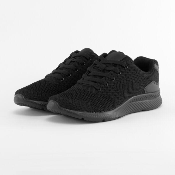 fekete férfi poliészter sportcipő - SPORTCIPŐK - Női cipő webáruház ... bb245b9632