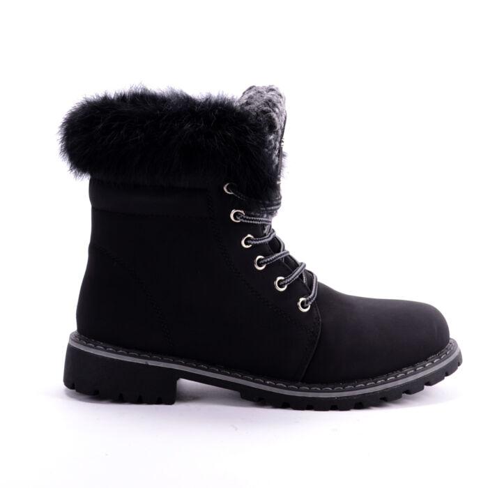 Seastar Fekete Női Bakancs - BAKANCSOK - Női cipő webáruház-női csizmák 257996ccd1