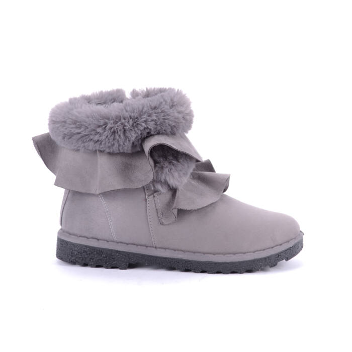 Seastar Szürke Női Művelúr Csizma - BOKACSIZMÁK - Női cipő webáruház-női  csizmák d6ac5b693c