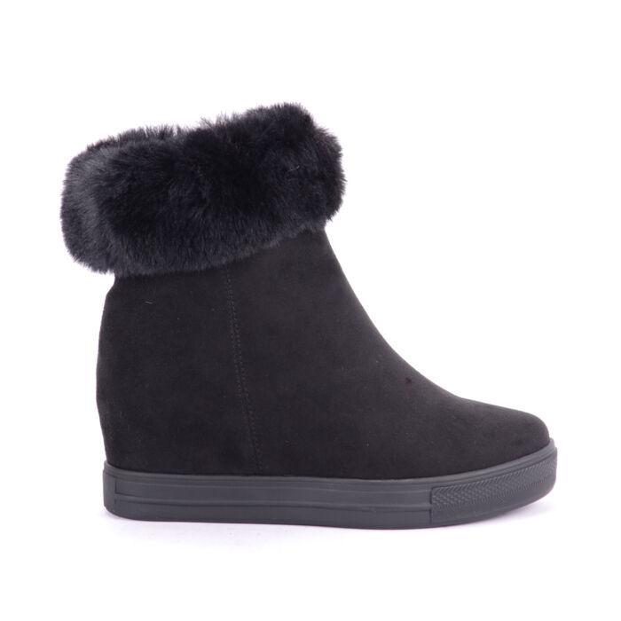 Seastar Fekete Művelúr Csizma - BOKACSIZMÁK - Női cipő webáruház-női csizmák 85b95f70a9