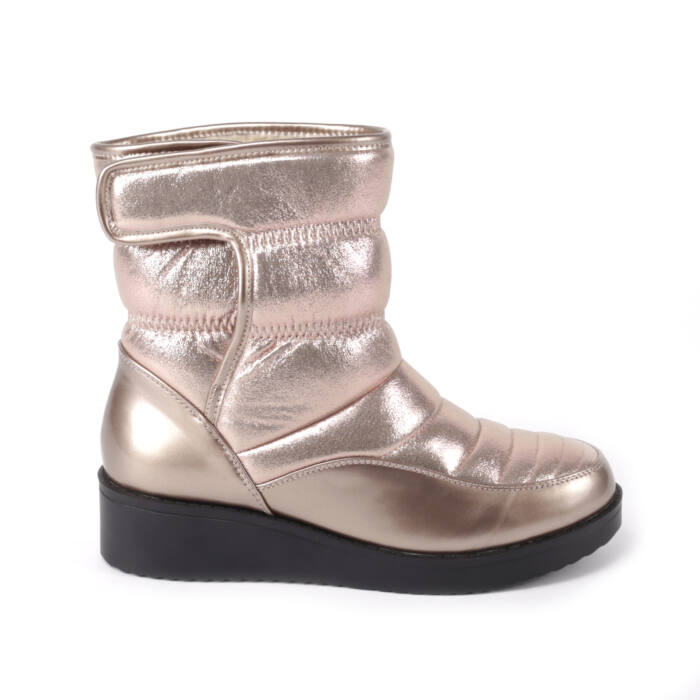 Női Pezsgő Színű Csillogós Csizma - HÓTAPOSÓK - Női cipő webáruház-női  csizmák 35bcbf5516