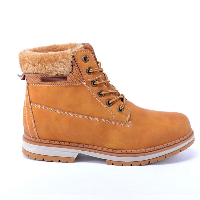 Női Barna Színű Műbőr Bakancs - BAKANCSOK - Női cipő webáruház-női csizmák d4b6a06996