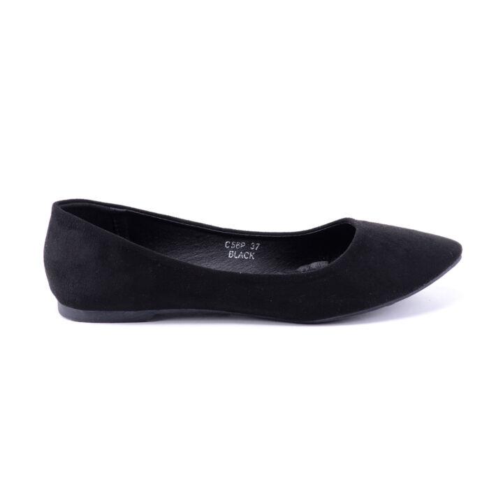 934d439c98 ... Női Fekete Művelúr Balerinacipő - BALERINA CIPŐK - Női cipő webáruház- női csizmák f972feb323 ...