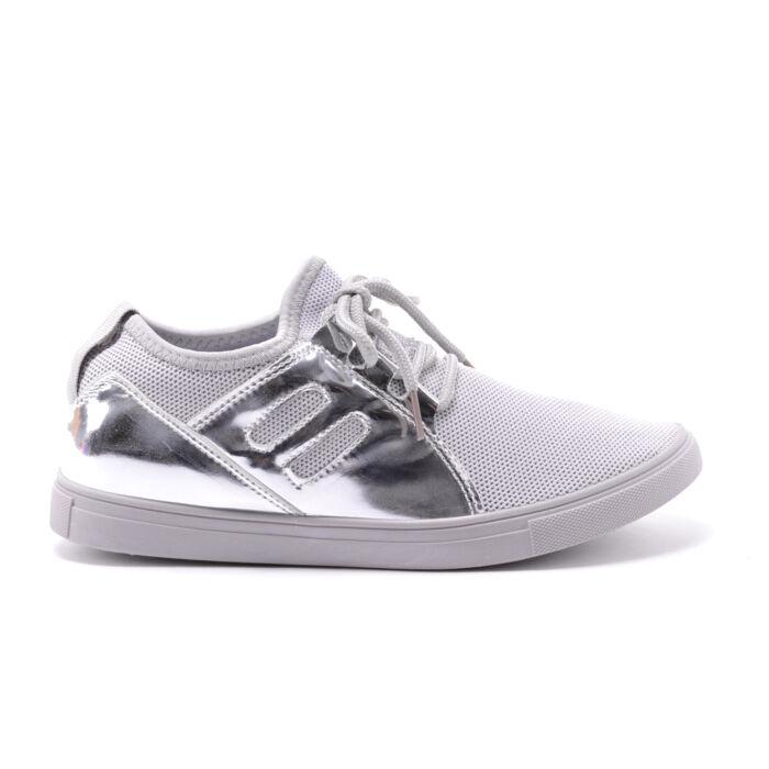Női Ezüst Színű Lakkos Sportcipő - SPORTCIPŐK - Női cipő webáruház-női  csizmák 395457be87