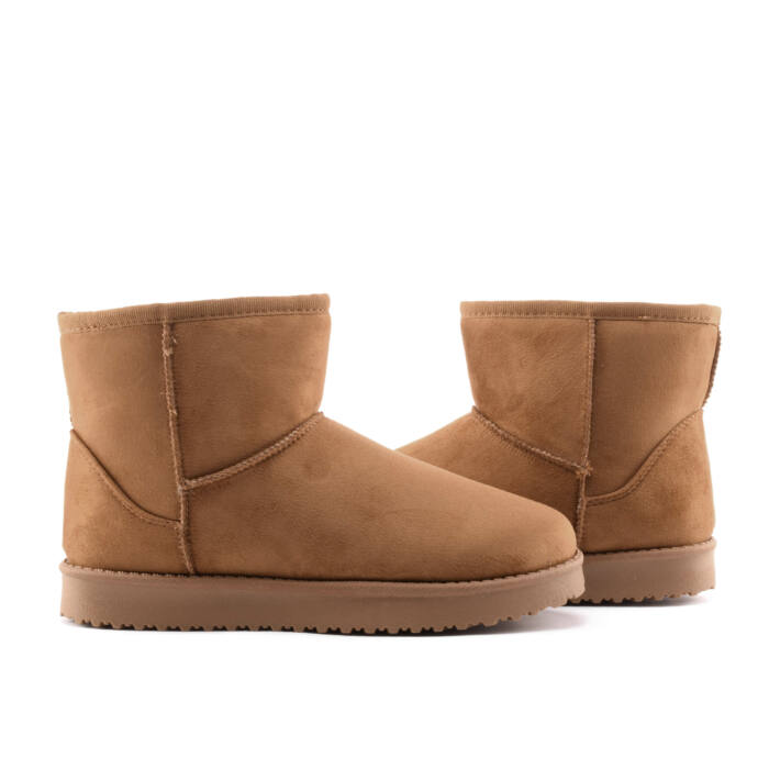 Barna női művelúr hótaposó - HÓTAPOSÓK - Női cipő webáruház-női ... ba5befd188