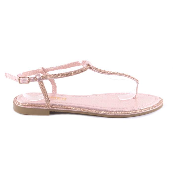 e68a505e6b Rózsaszín Női Szandál - LAPOS TALPÚ SZANDÁLOK - Női cipő webáruház ...