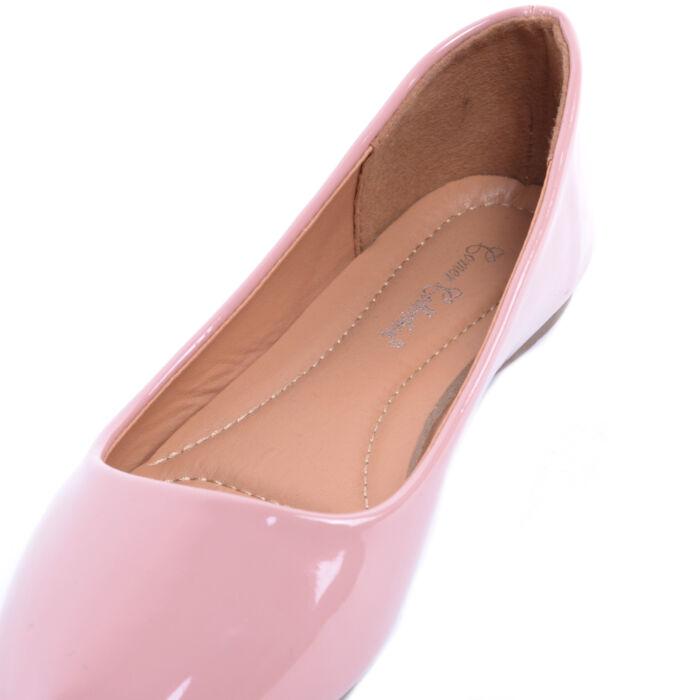 Kék Női Lakk Balerina Cipő - BALERINA CIPŐK - Női cipő webáruház-női ... 6f22b59620