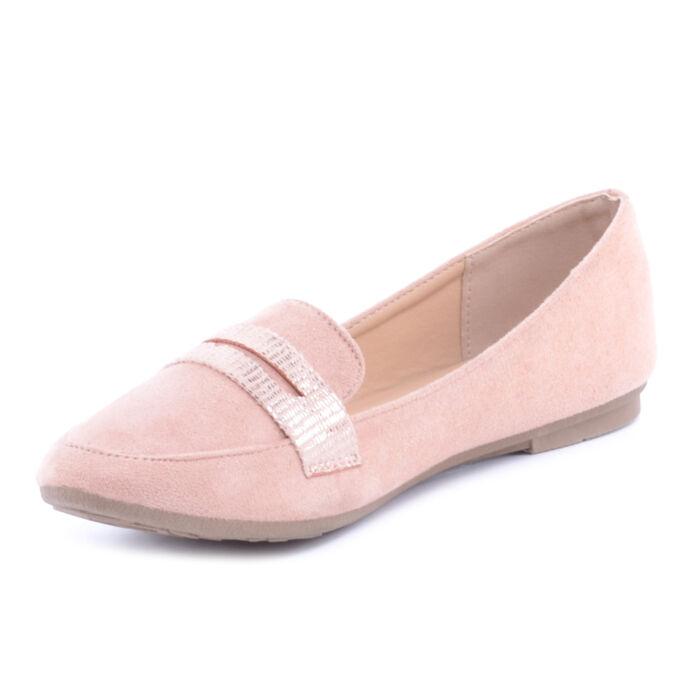 Rózsaszín Női Művelúr Balerina Cipő · Rózsaszín Női Művelúr Balerina Cipő  ... 12afb4be88