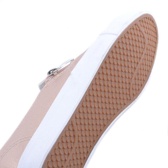 Pezsgő Színű Női Műbőr Slip-On - SLIP-ON - Női cipő webáruház-női ... 09c15e8ee0