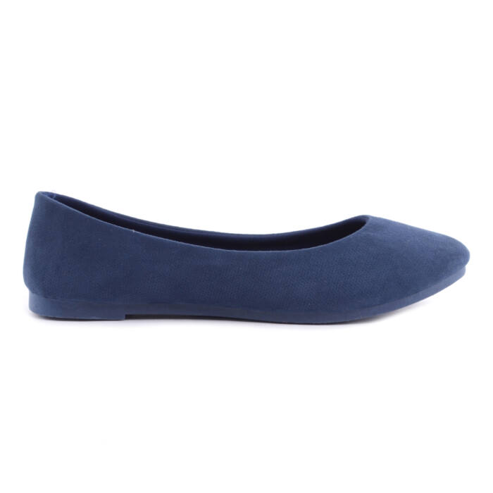 Sötétkék Női Művelúr Balerina Cipő - BALERINA CIPŐK - Női cipő ... 9e12ee60c6