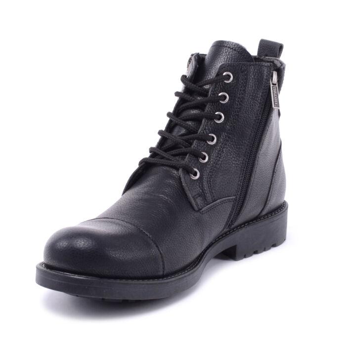Férfi Műbőr Bakancs Fekete - FÉRFI BAKANCSOK - Női cipő webáruház ... 583e22eb96