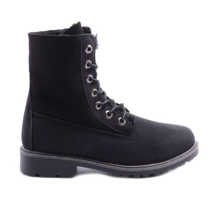 Női Szintetikus Bélelt Bakancs Fekete - BAKANCSOK - Női cipő ... 931631f12d