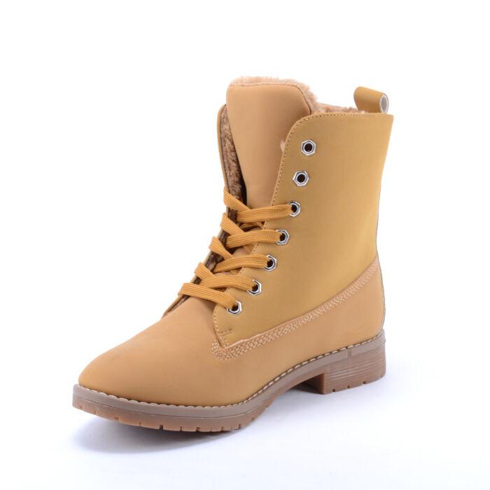 Női Vastagon Bélelt Bakancs Barna - BAKANCSOK - Női cipő webáruház ... a577e3223f