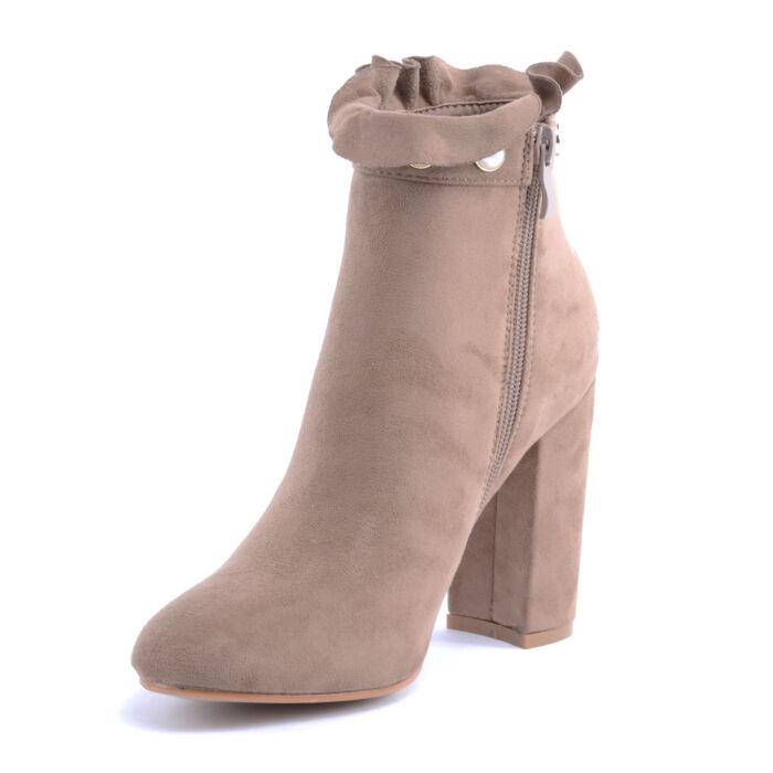 Seastar Női Művelúr Bokacsizma Világosbarna - BOKACSIZMÁK - Női cipő ... 95017e46d0