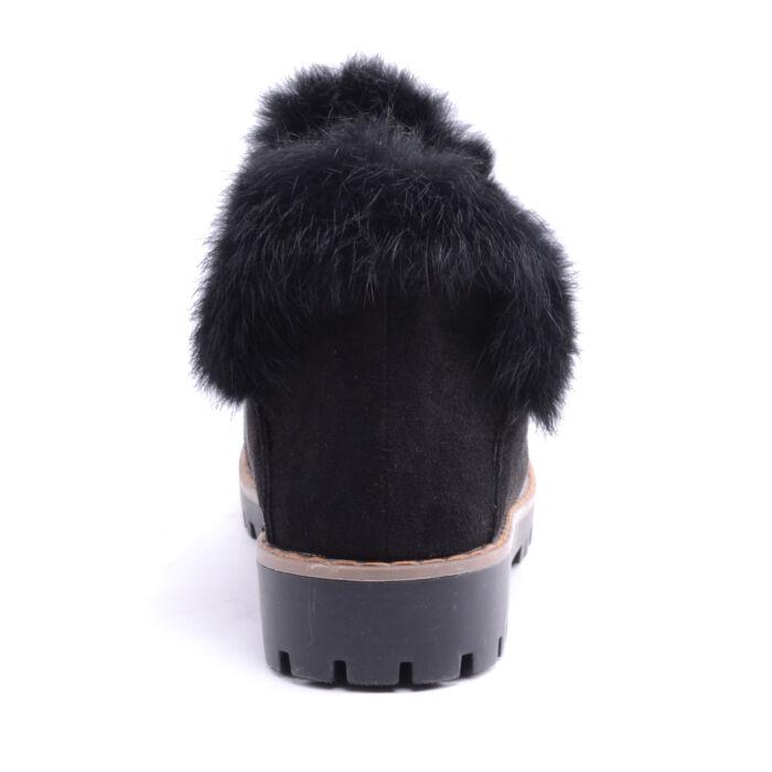Seastar Női Művelúr Bokacsizma Fekete - BOKACSIZMÁK - Női cipő ... b1af0f72a1
