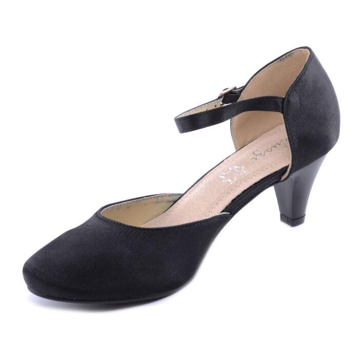 Női Poliészter Törpesarkú Fekete - ALKALMI CIPŐK - Női cipő ... b1838d404b