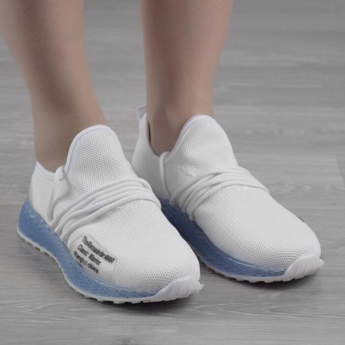 Fehér   Kék Női Poliészter Sportcipő - SPORTCIPŐK - Női cipő ... 8a4649d7a0