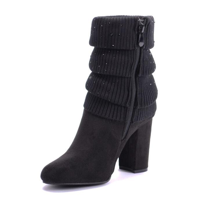 Seastar Fekete Női Művelúr Bakancs - BOKACSIZMÁK - Női cipő ... 07157f9345