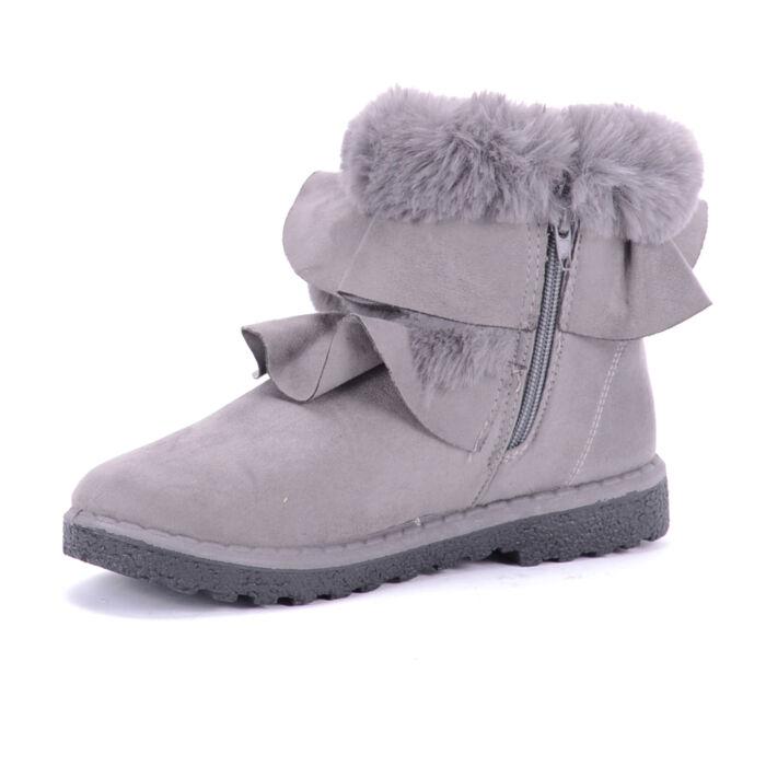 Seastar Szürke Női Művelúr Csizma - BOKACSIZMÁK - Női cipő webáruház ... b9ab6da9bb