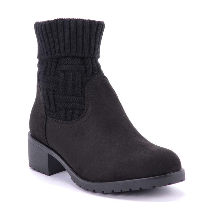 Seastar Fekete Művelúr Bokacsizma - BOKACSIZMÁK - Női cipő webáruház ... a675515630