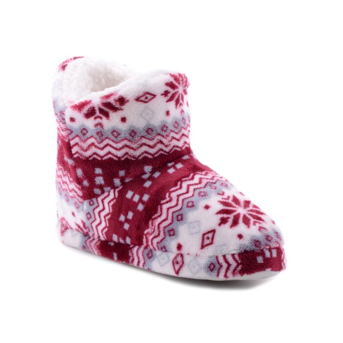Kék Téli Mintás Plüss Mamusz - MAMUSZ - Női cipő webáruház-női ... 8a1a43ab64