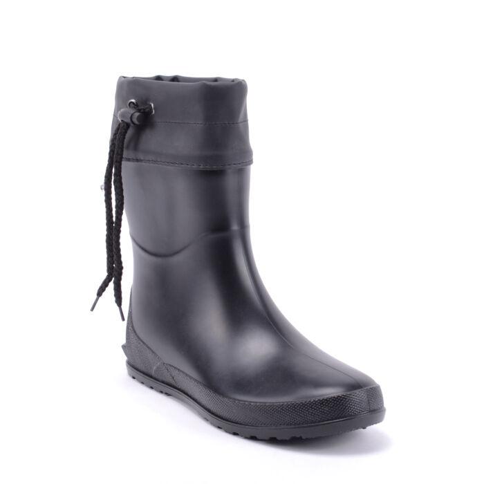 Női Fekete Matt Gumicsizma - GUMICSIZMÁK - Női cipő webáruház-női ... 9dd93cd456