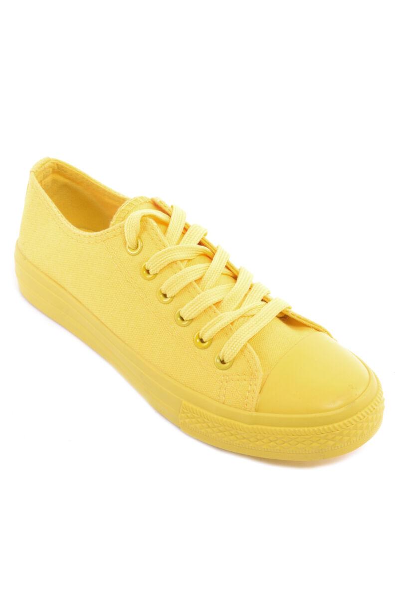 Női  Szövet sárga Tornacipő