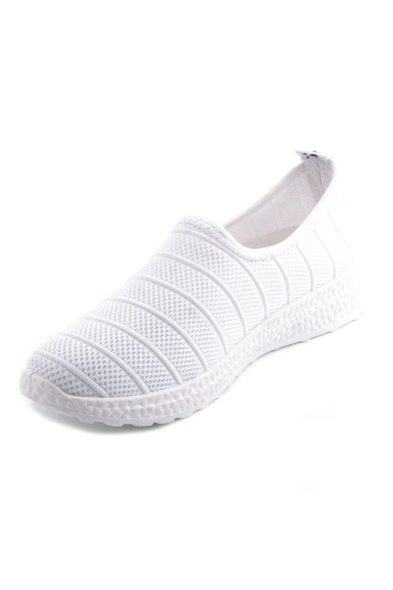 Női Horgolt Sportcipő Fehér
