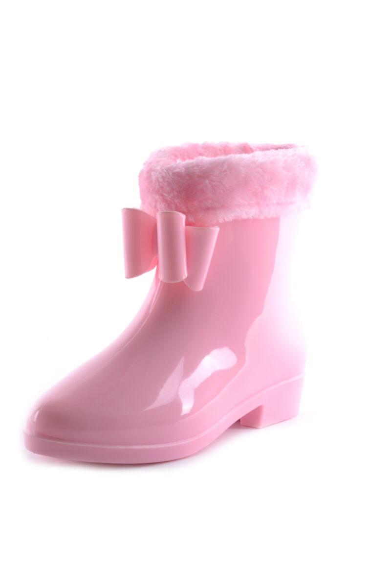 Női Gumi Gumicsizma Rózsaszín