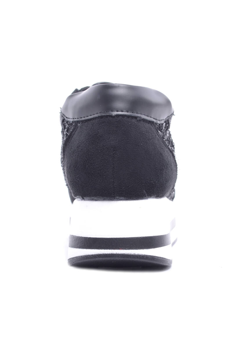Női Platformos Sportcipő Szürke