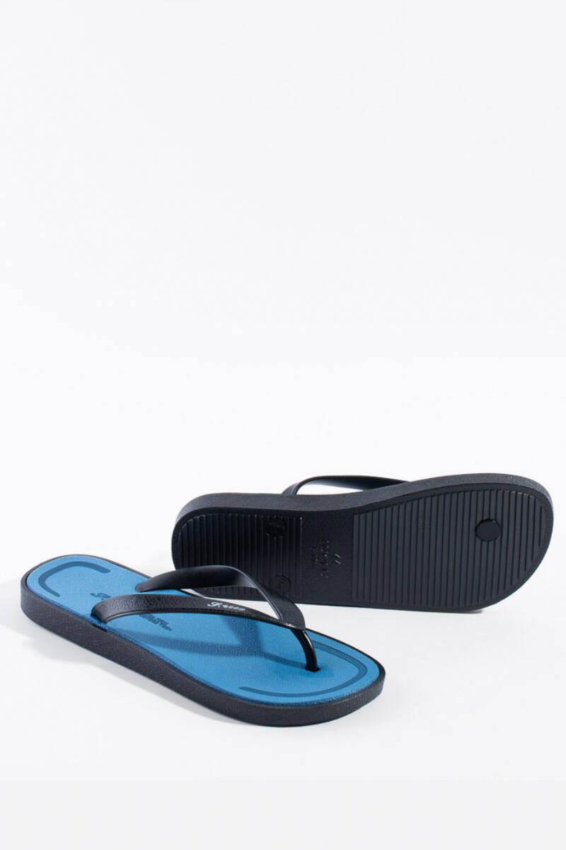 Kék és Fekete gumi papucs