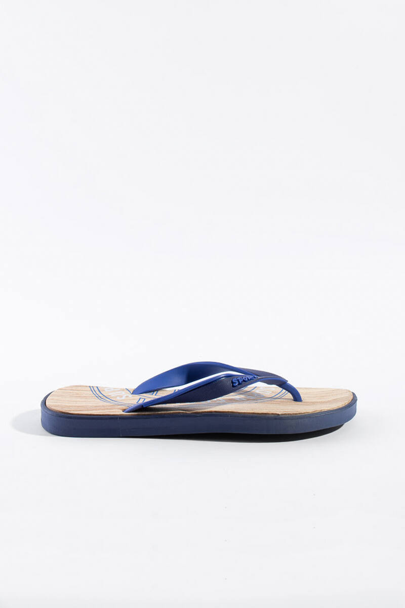 Kék gumi papucs sport felirattal