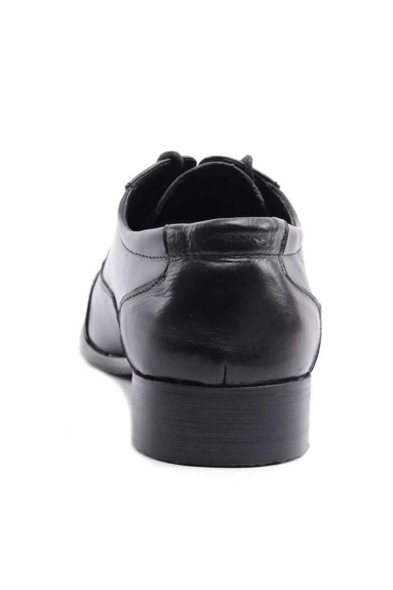 Férfi Valódi Bőr Alkalmi Cipő Fekete