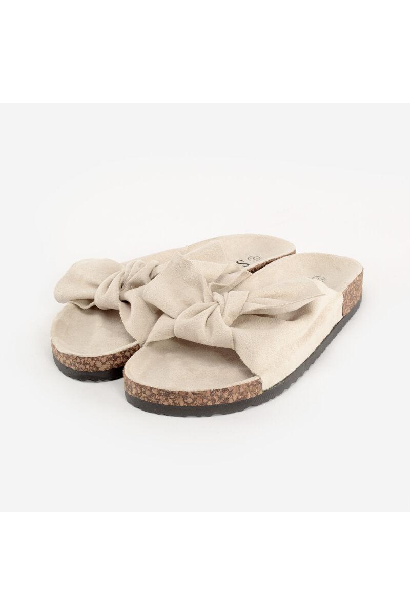 Seastar Bézs Női Textil Papucs