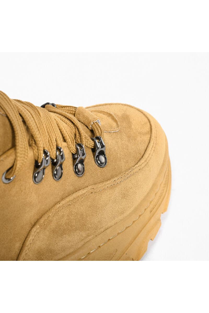 Női Platformos Művelúr Cipő Keki