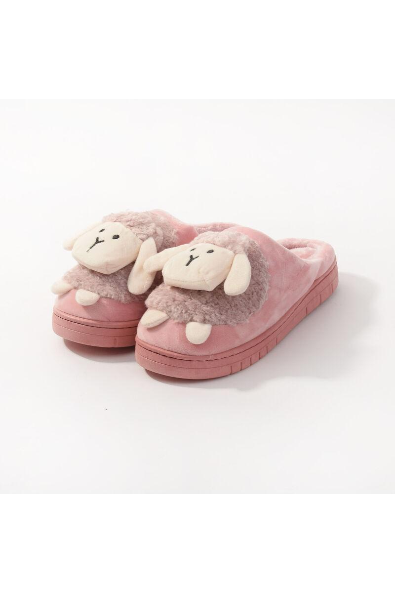 Rózsaszín Bárányos Meleg Mamusz