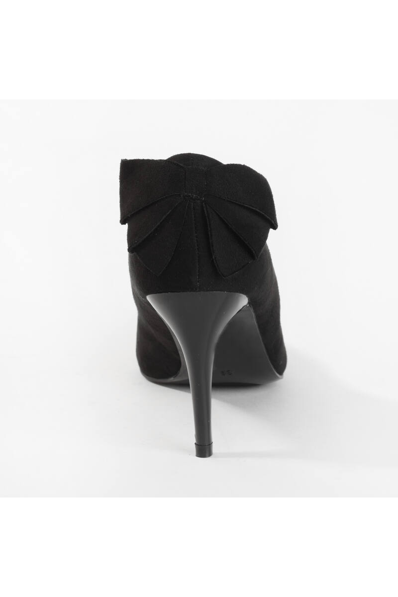 Fekete Masnis Művelúr Magassarkú Cipő