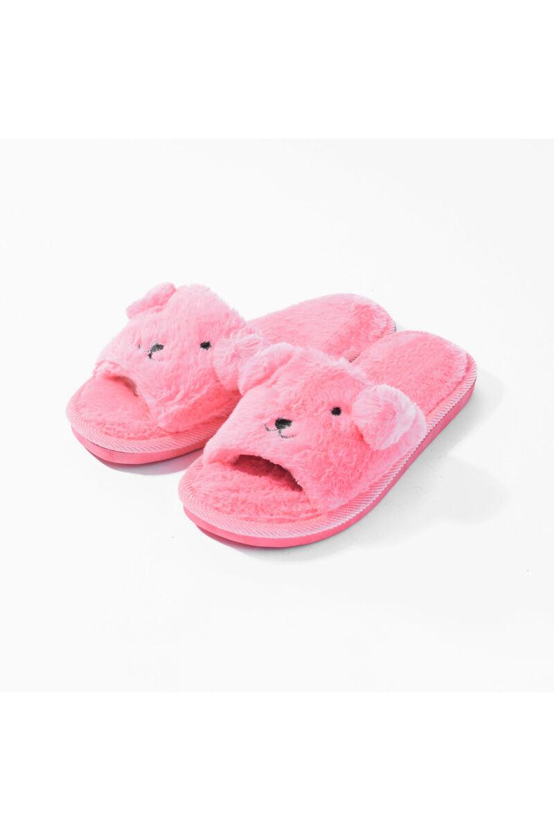 Rózsaszín Állatos Bélelt Téli Mamusz