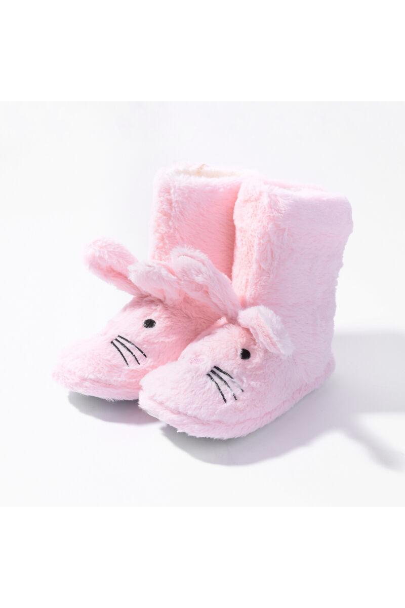 Rózsaszín Bélelt Téli Mamusz