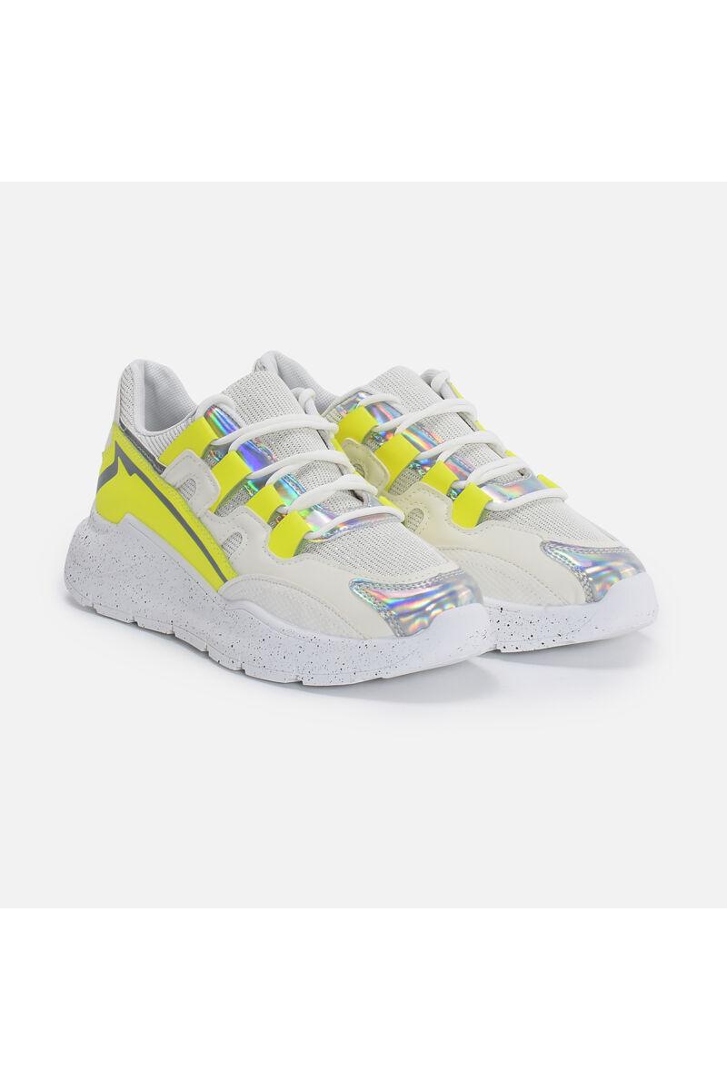 Hologrammos Neon Utcai Cipő