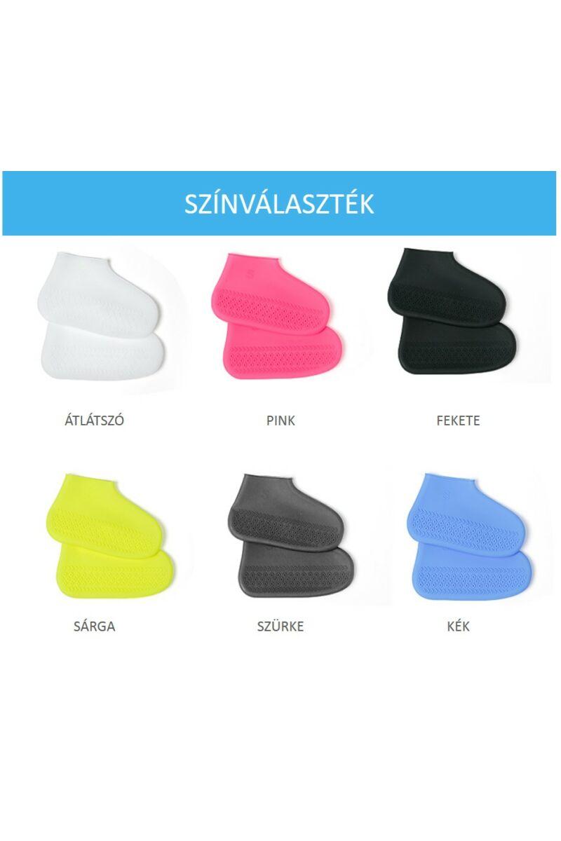 Szilikonos cipővédő (Esővédő cipőzokni)