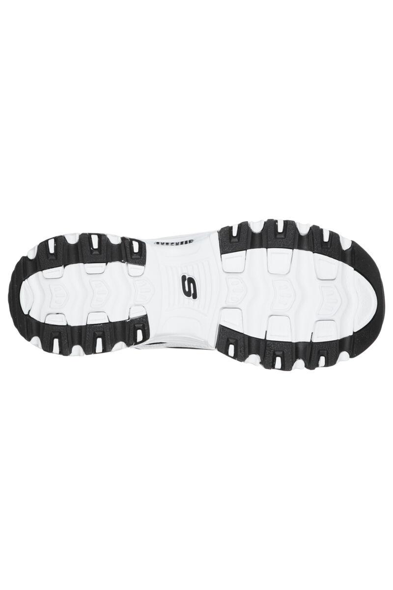 Skechers D'Lites March Forward Fekete-Fehér Női Sneaker