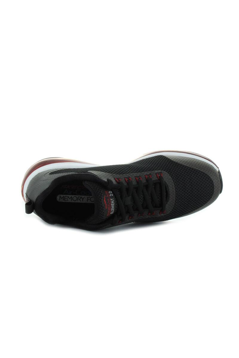 Skechers Air Element 2.0 Lomarc Fekete Férficipő