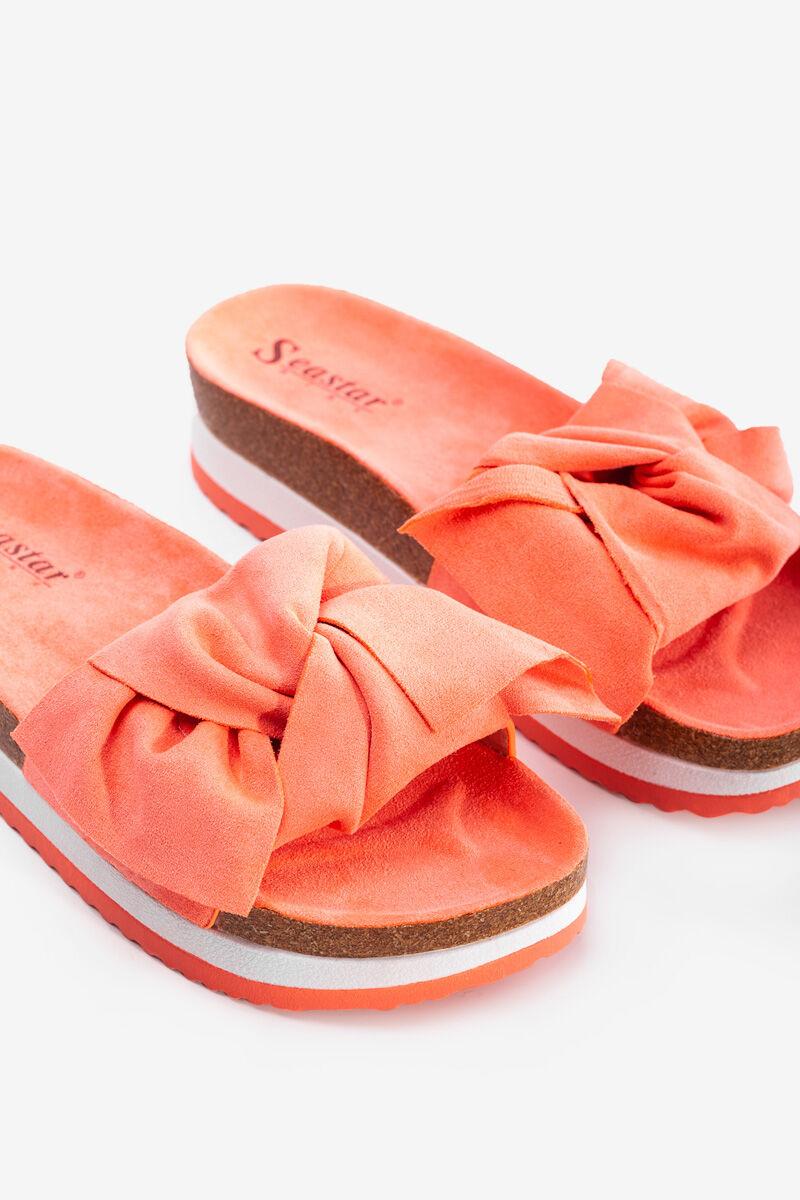 Coral nyári platform papucs