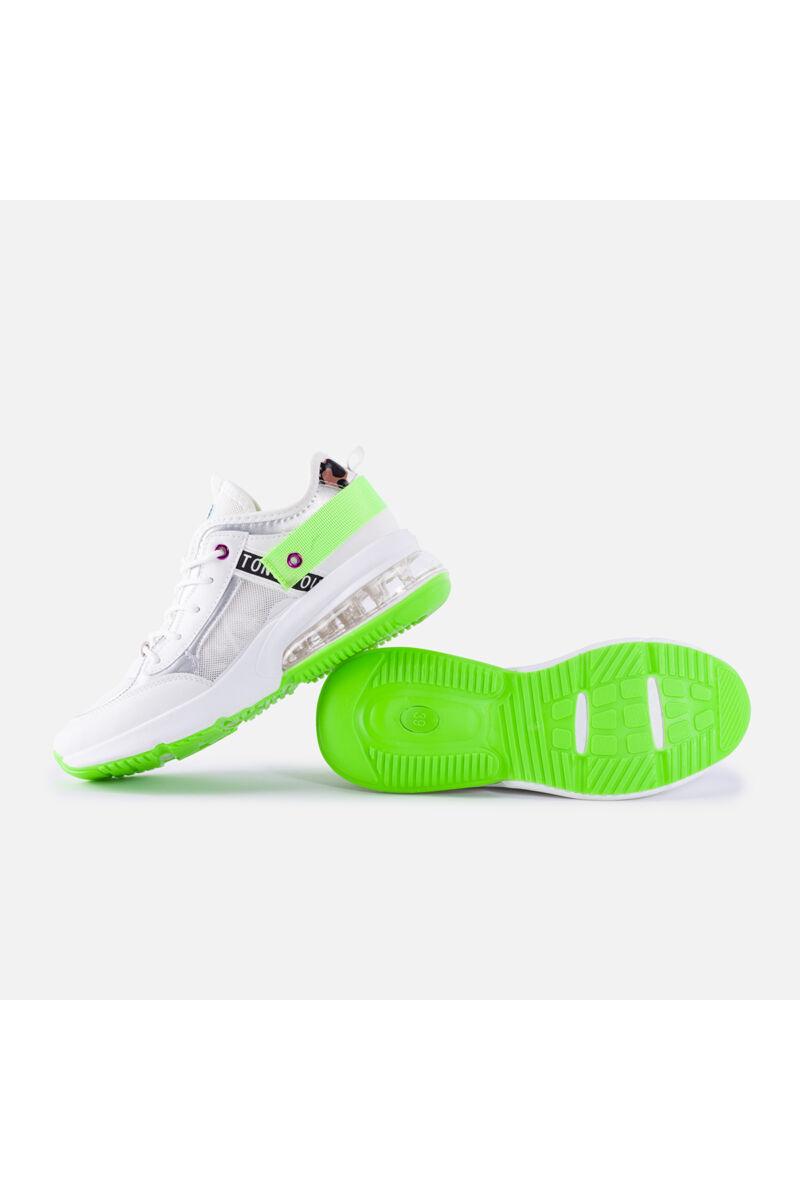Könnyített talpú színváltós sportcipő