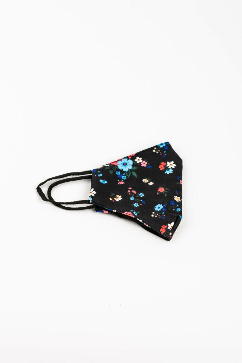 Virágos 2 Rétegű Trendi Textil Szájmaszk